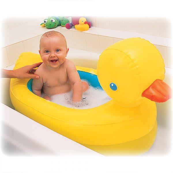banheira para bebê inflável
