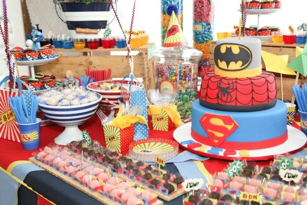 festa super-herois