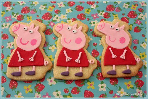 biscoito festa peppa pig