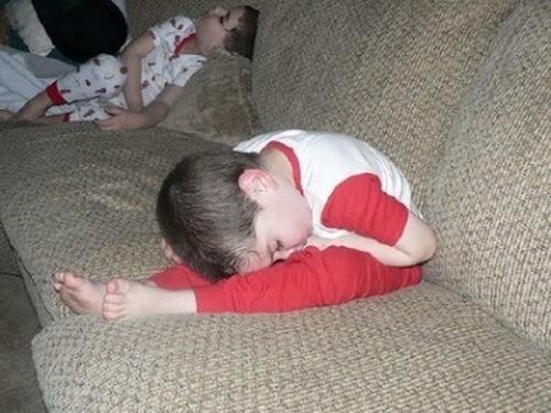 Eu simplesmente... dormi!
