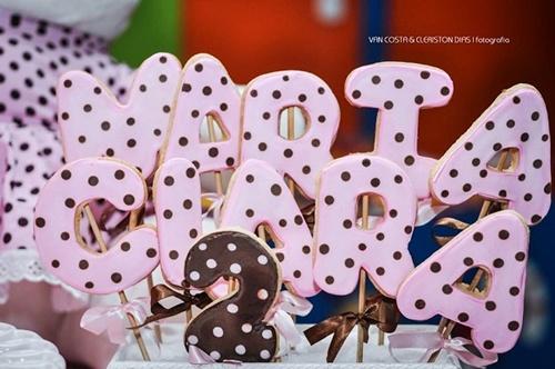 biscoito doce para festa infantil