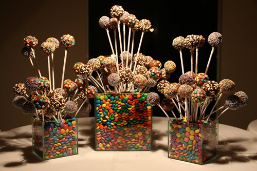 cake pops doces para festa infantil
