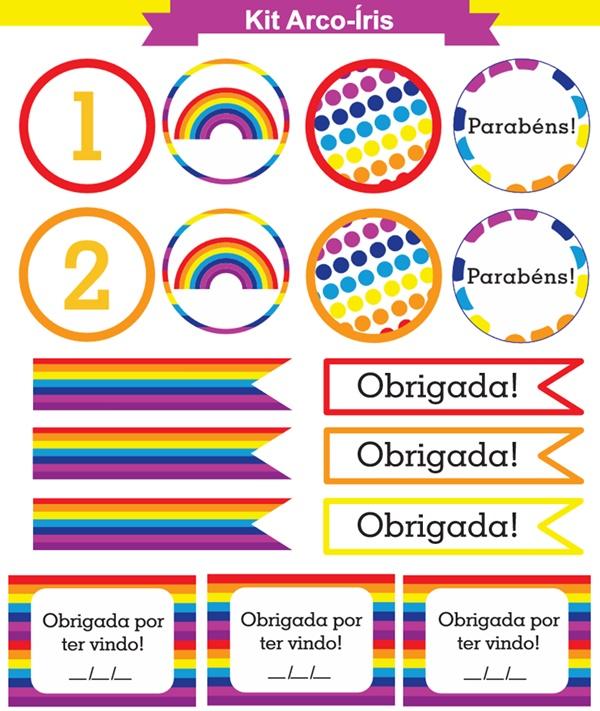 kit arco-iris