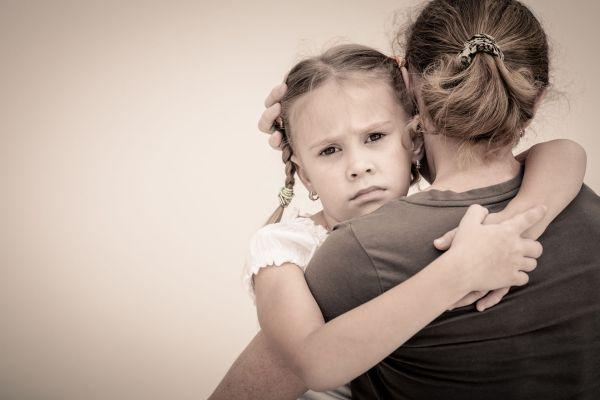 filha triste