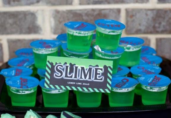 festa slime doce festa tema brinquedo