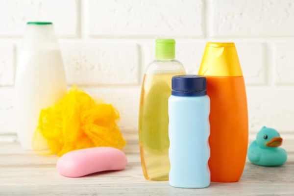 produtos de higiene do bebê