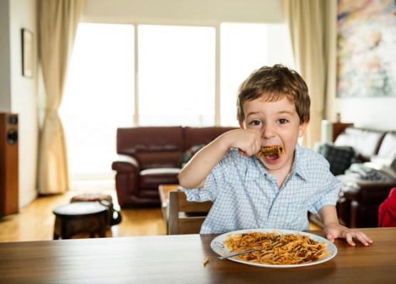 alimentação de 4 anos