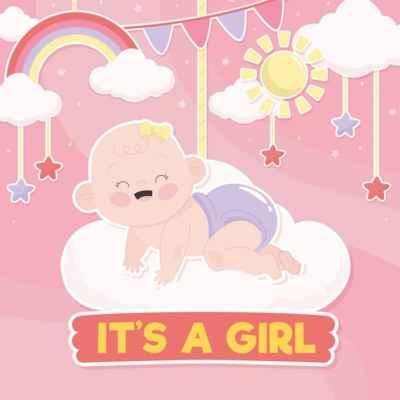 chá de bebê tema céu