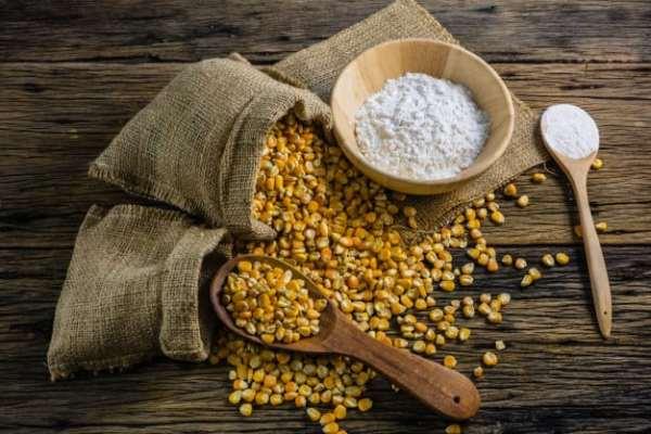 Amido de milho para assadura de bebê