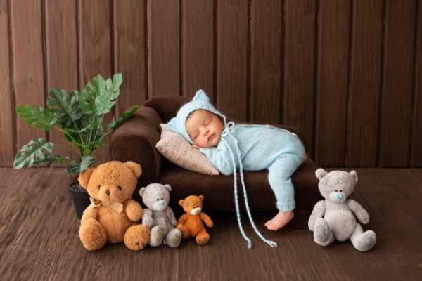 Bebê com ursos