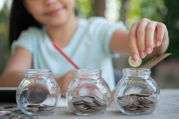 ensinar educação financeira para o seu filho