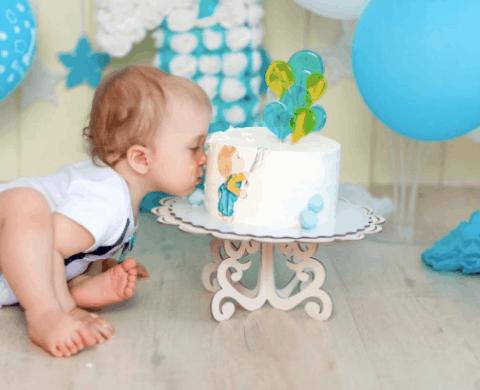 Fotos de 1 ano smash the cake menino