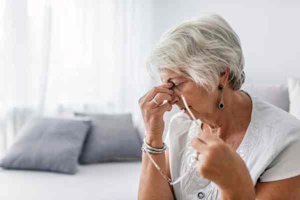 mulher com Alzheimer
