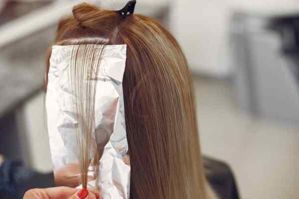 clareamento de cabelo