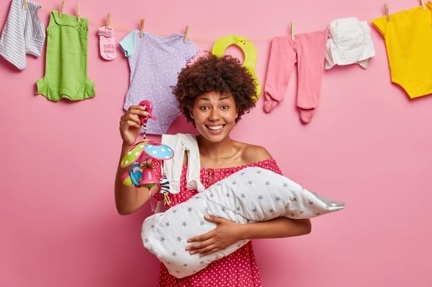 Como lavar roupa de bebê recém-nascido
