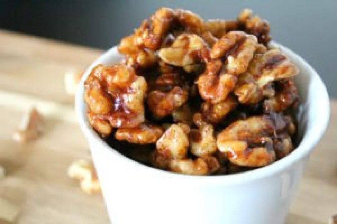 Glazed Walnuts Recipe