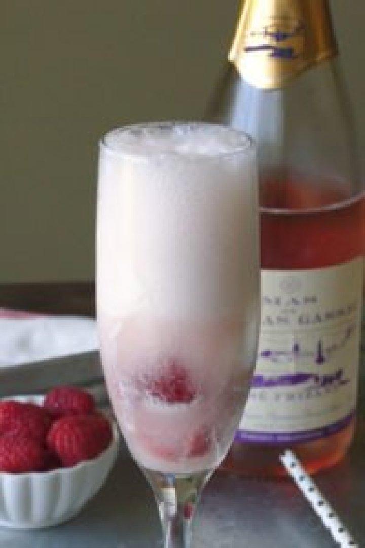 rosé dessert