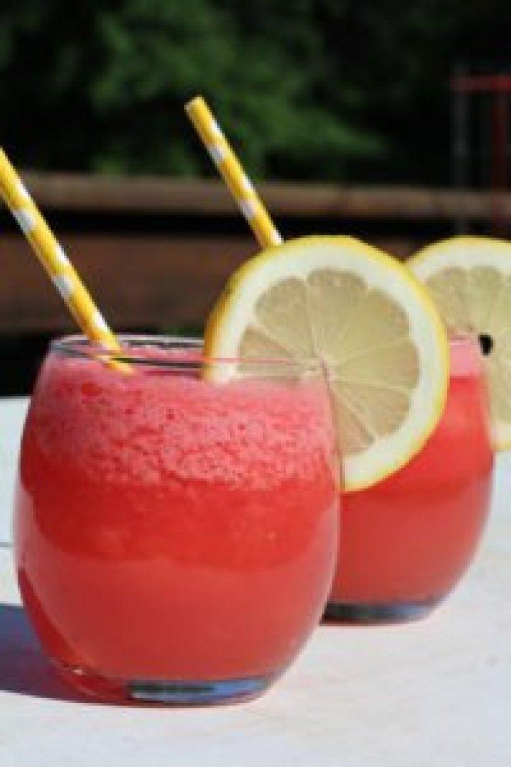 Frozen Watermelon Lemonade