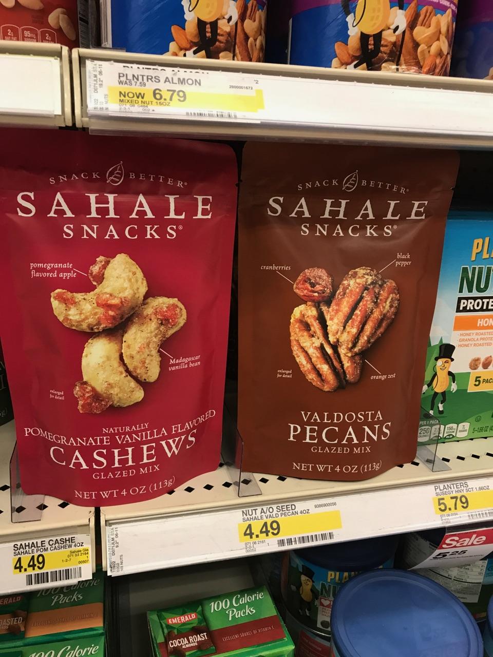 Sahale Snacks at Target