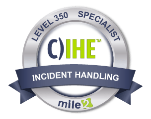 Certified Incident Handling Engineer Badge