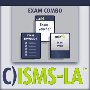 C)ISMS-LA/LI Security Management Systems Lead Auditor exam combo