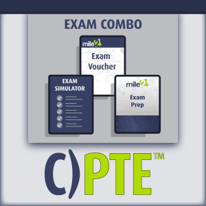 C)PTE Penetration Testing Engineer exam combo
