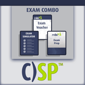 Certified Security Principles exam combo