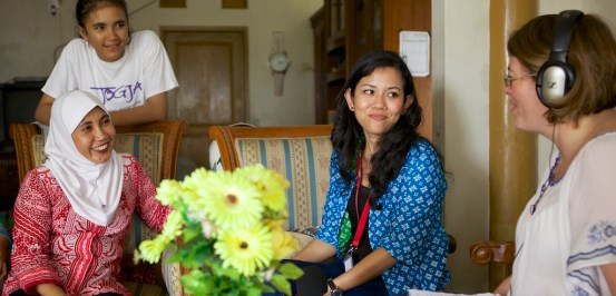 Cherie Blair Foundation for Women, Indonesia 2014
