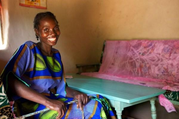 Kenyan lady