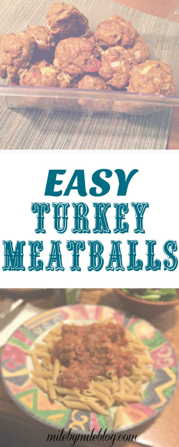 A quick, easy, and flavorful recipe for turkey meatballs. Perfect for serving over pasta with a salad on the side.