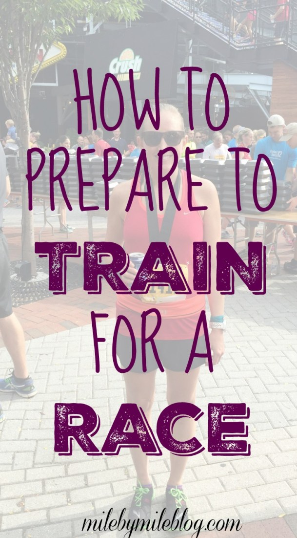 There is alot of info about how to train for a race, but this is all about how to PREPARE to train, It's important to be ready to go before the training even begins!