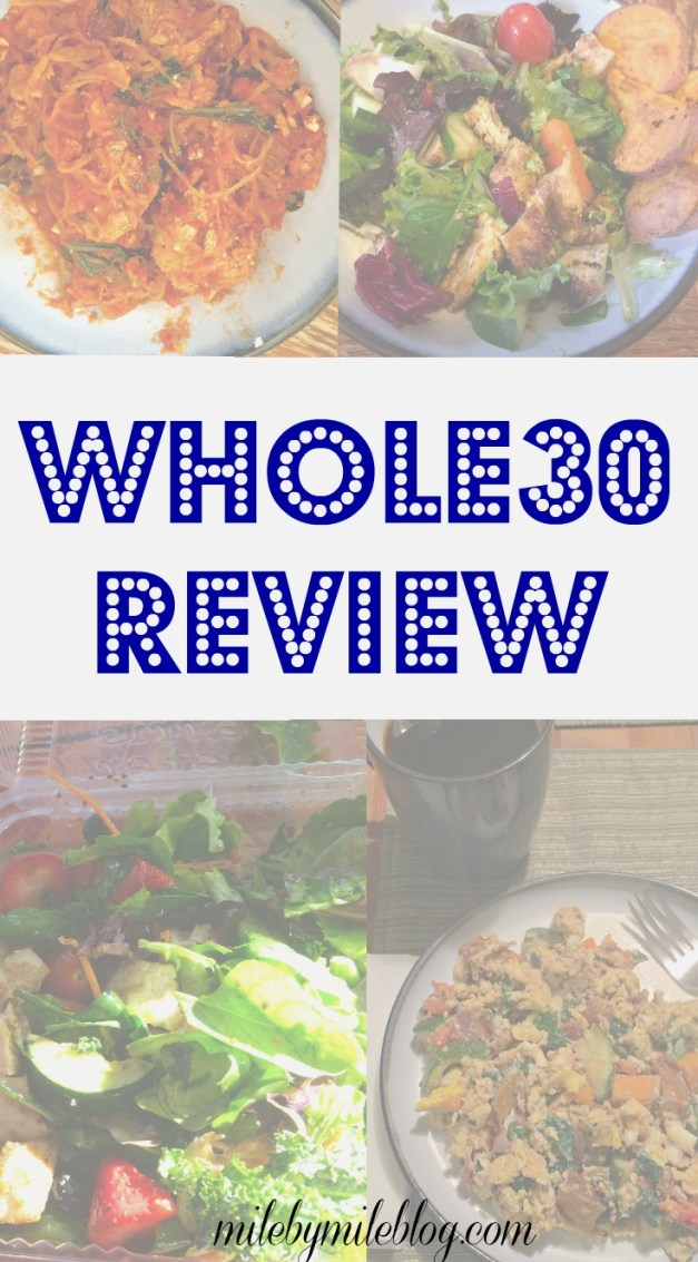 A review of the Whole30 from two perspectives
