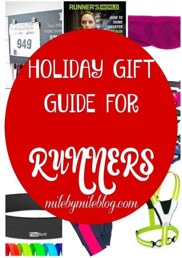 Looking for the perfect gift for the runner in your life? Here are some great ideas that any runner would love to receive! #running #gifts #hollidays