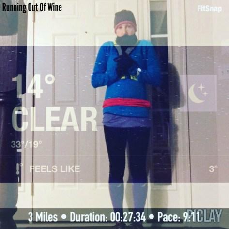cold run monday