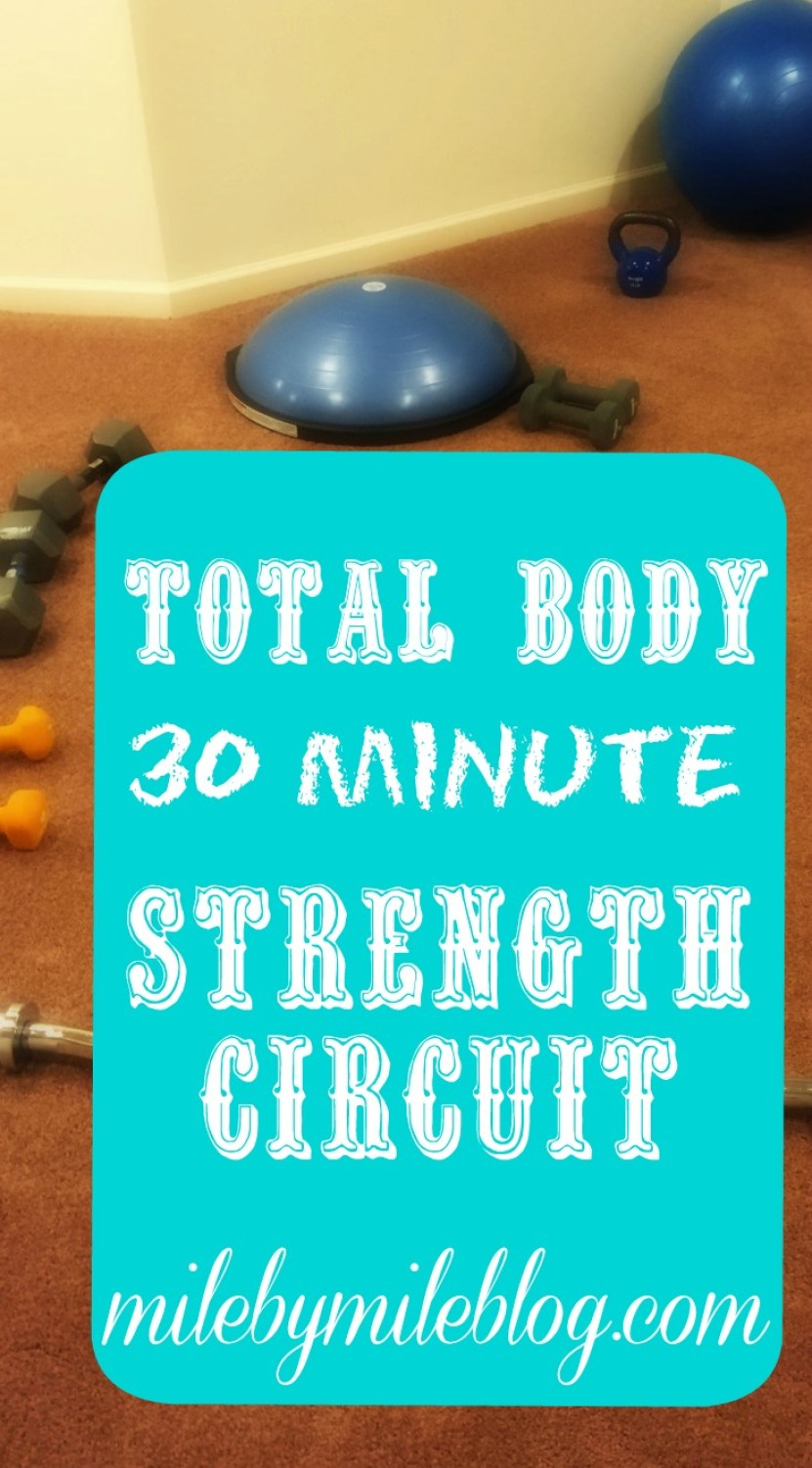Total Body 30 Minute Strength Circuit