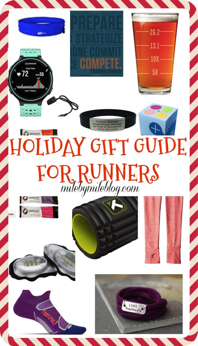 Looking for the perfect gift for a runner? (Or for yourself?) Check out this holiday gift guide, with everything from gadgets to fuel to books and more!