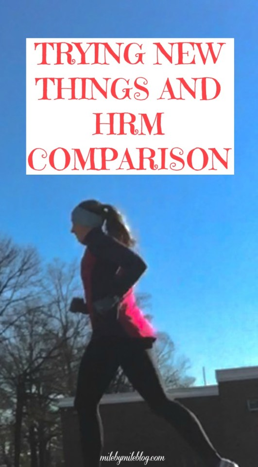 Lately I've been trying new things including mediating and a slightly different injury prevention strategy. Also, check out my HRM comparison experiment!