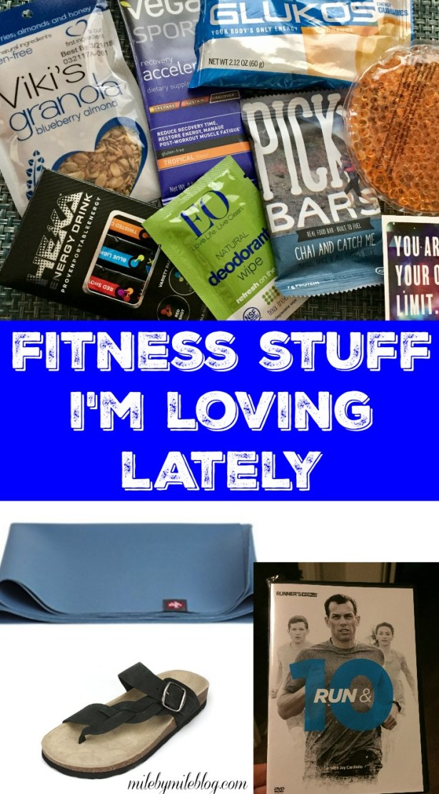 Looking for some new fitness gear? Here are some fitness products that I've been loving lately! #fitness #stridebox
