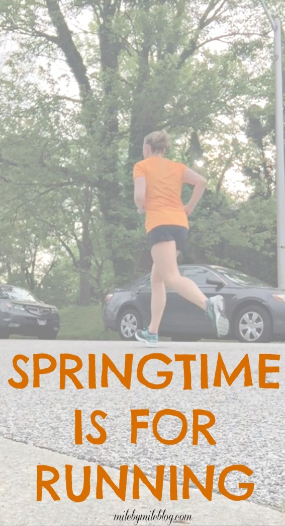 It's springtime and all the runners are out! I've been hit with the running bug and have been itching to get back outside for some runs in the warm weather.