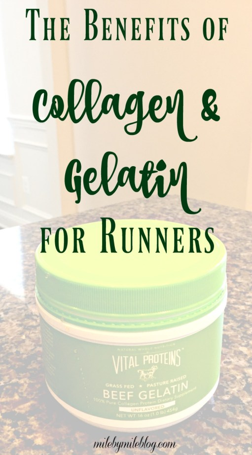 Ever thought about trying collagen or gelatin as a supplement to help improve your running? Here are some of the benefits of them and ways to incorporate them into your diet. Click post for more info.
