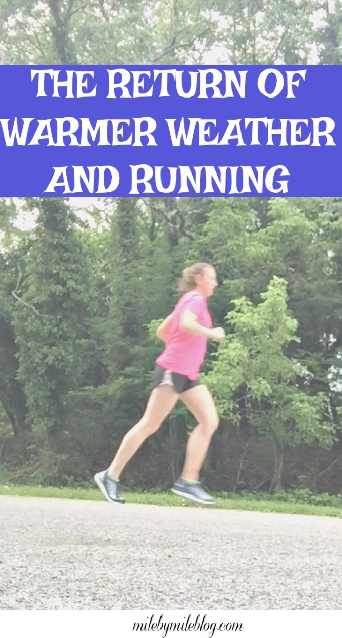 Last week brought the return of warmer weather and I was back to running more regularly. Click post to read more about last week's workouts!
