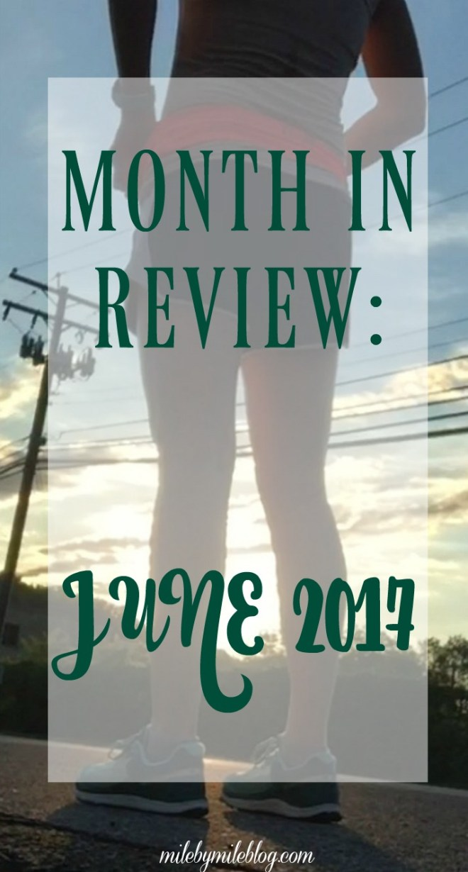 June was a pretty good month, as I started working on strength training and transitioned into my orthotics. Click post to read more about what's been going on this month!