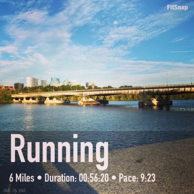 End of Summer Running {Weekly Wrap}