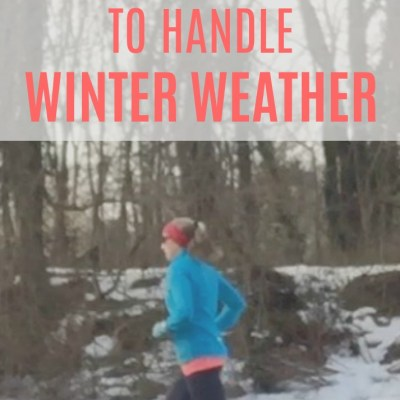 5 Ways for Runners to Handle Winter Weather