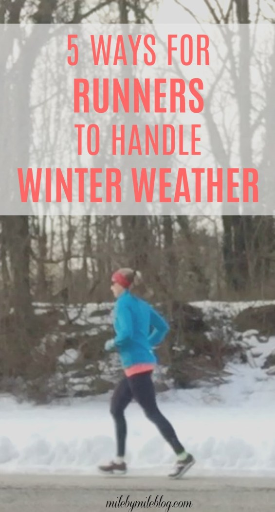 Just because winter has arrived doesn't mean runners need to stop training. Check out these tips to help adjust your training and continue running all through the winter!