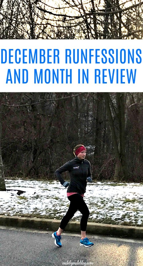 December was a good month to end off 2017. Click post to read about the month of running, cross training, strength training, and more, along with a few runfessions to finish off the year!
