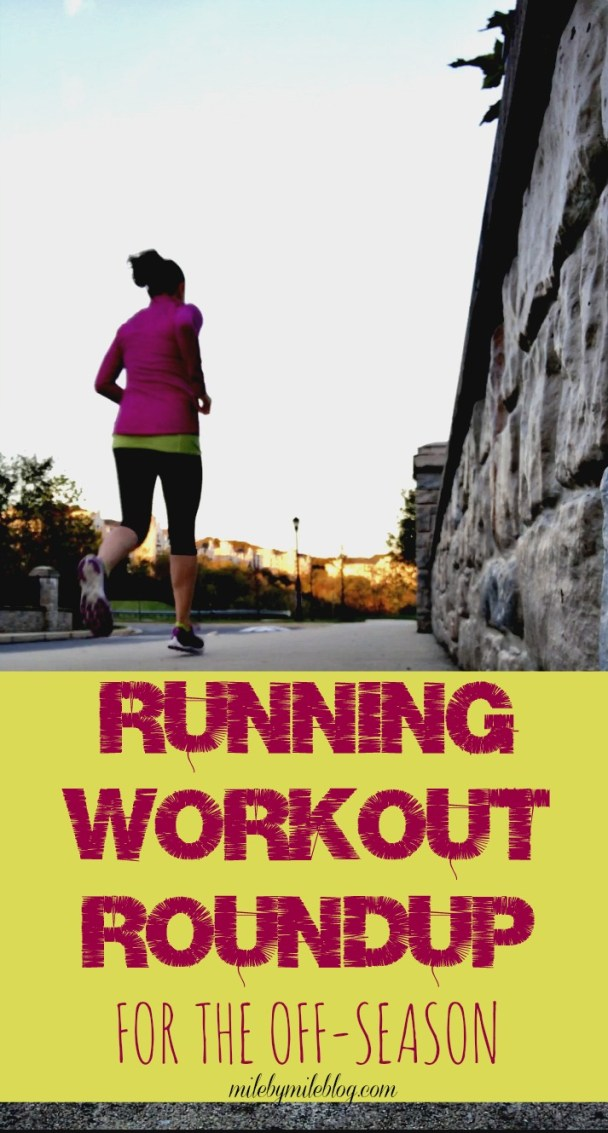 Looking to add some challenge into your runs during the off-season? Try one of these workouts to maintain your fitness and to change things up! These workouts cover short, medium, and long distances.