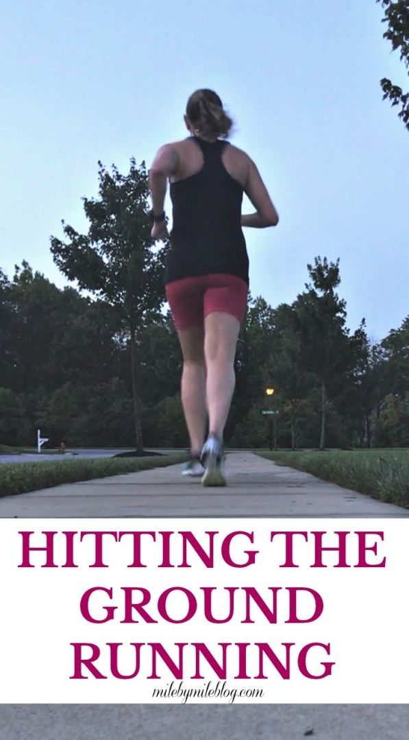 This week I felt like I was hitting the ground running! It's been tough balancing work, running, and life. Check out my workouts from this week. #running #workouts