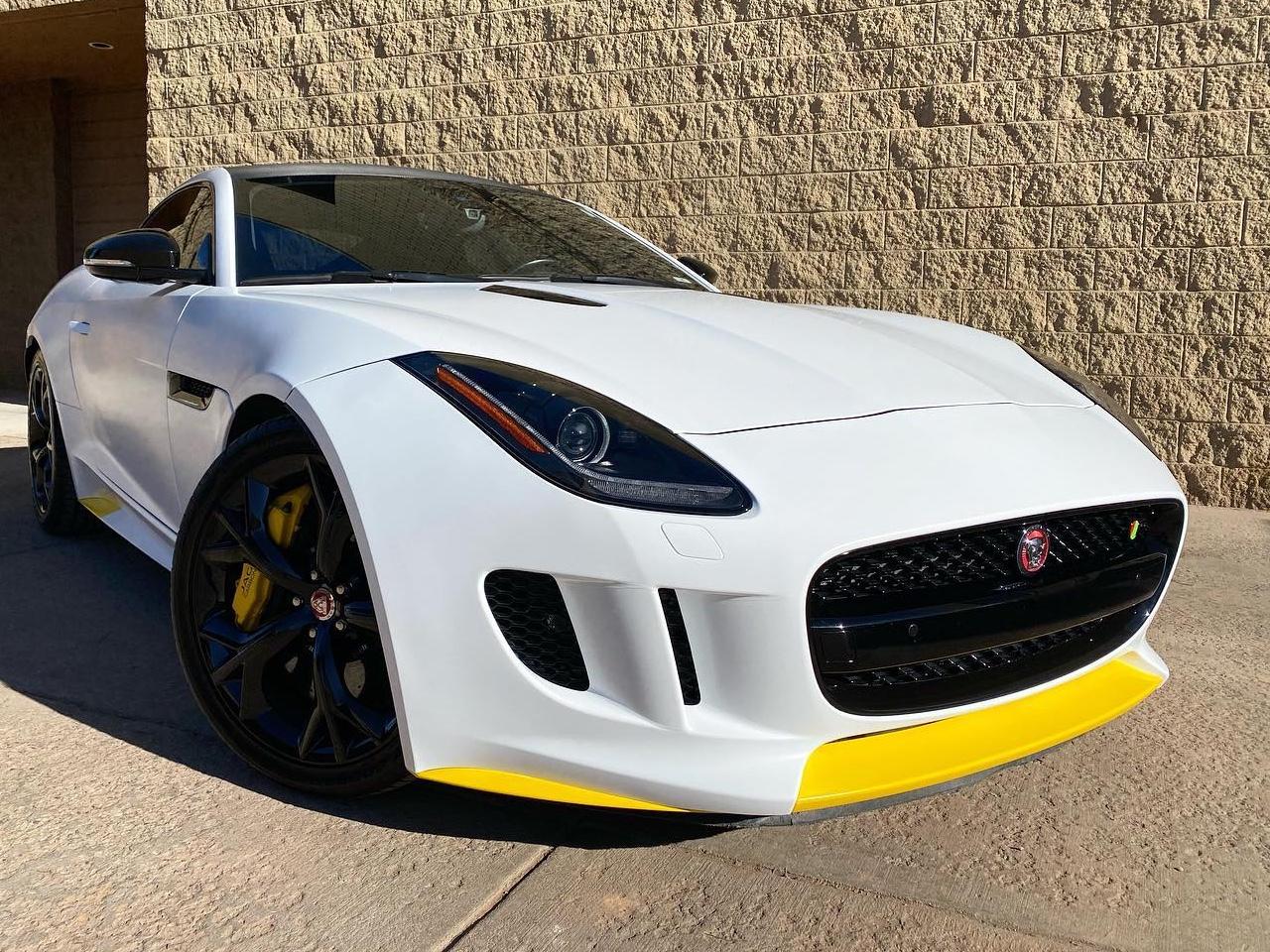 Jaguar F-TYPE vinyl wraps