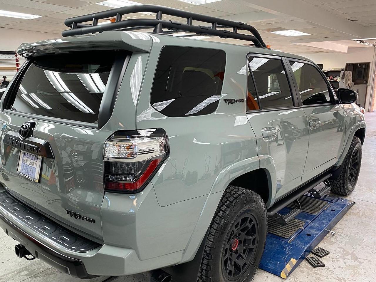 Toyota 4Runner tinted windows